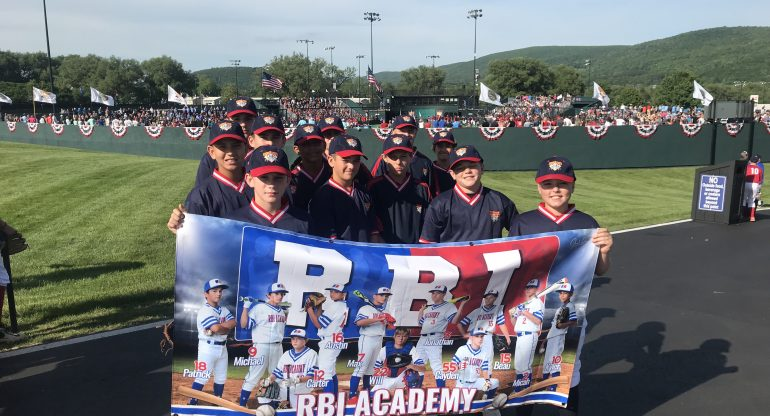 RBI Academy 12U Finishes Third in the 2018 Cooperstown World Series